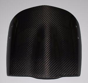 2003-2010 Buell XB9, XB12/S/SX/SS/STT/X Windscreen - 100% Carbon Fiber