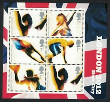 Great Britain Basketball Swimming Athletics London Olympic Games 2012 MS MNH