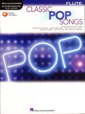 Classic Pop Songs Play-Along Flute Querflöte Noten mit Download Code