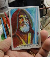 Topps Star Wars Masterworks 2015 Sketch Card Obi Wan Kenobi Art 1/1 Jimenez