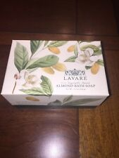Commonwealth 100% Vegetable based Lavare ALMOND Bath Soap Large Bar 12 Oz New