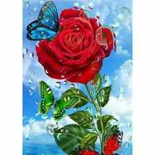 "Diamond Painting - Diamant Malerei - ""Rose - Vollbild"" (8345)"