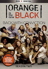 NEW!!! Orange Is the New Black: Season Two (DVD, 2015, 4-Disc Set)