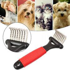 Hair Removal Comb for Dogs Cat Detangler Fur Trimming Dematting Deshedding Brush