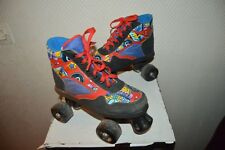 ROLLER AMERICAIN QUAD SKATES TAILLE 34 PATIN A ROULETTE ROLLER DANSE VINTAGE  BE