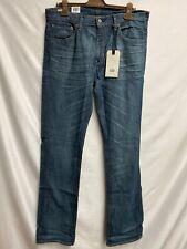 levis 527 slim bootcut Herren Jeans Stretch Blau Gr.36/38 Neu mit Etikett