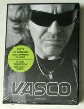 VASCO ROSSI -  Libro LE MIE CANZONI + DVD DAL PALCO - Sigillato