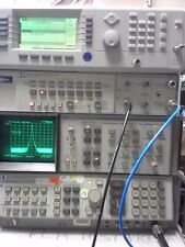 HP 8566B Spectrum Analyzer Measuring Unit. WORKING