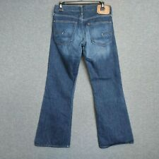 G Star S.C. Low Boot Pant Button Fly Mens Jeans Size 30 X 28