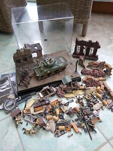 Forces of Valor 1:32 JOB LOT - Diorama, Vehicles, Tank, Figures, Weapons, etc