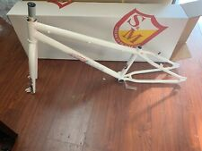 S&M BIKES STEEL PANTHER RACE FRAME FORK KIT 24 INCH WHITE 22 BIKE CRUISER 22""