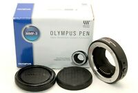 Mint in Box Olympus Pen MMF-3 Four Thirds Adapter Lens to Mount Micro from Japan