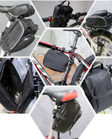 Bicycle Bike Tube Frame Controller Bag Battery Case PVC li-ion Storage Panniers