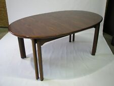Vintage 10.5' Danish Rosewood and Mahogany Dining Table by Skovby; 3 Extensions