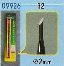 CISEAU A BOIS R2 (Diam. 2 mm) pour modélisme - TRUMPETER n° 9926