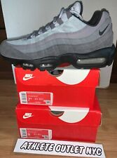 New Nike Air Max 95 Wolf Grey Black Men's Size 7.5-9 Running Sneakers AT9865-008