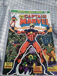 Captain Marvel #32 FN+ 6.5