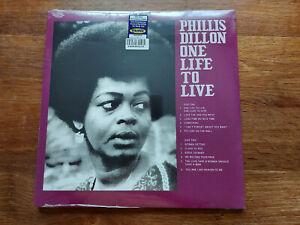 PHILLIS DILLON ONE LIFE TO LOVE  LP BLUE MARBLE VINYL  MINT