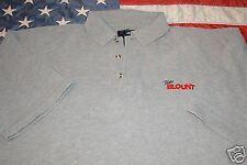 Team Blount Original Polo Shirt Gray XL Lightly Used