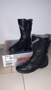 Daytona Motorradstiefel- Road Star GTX - Gore-tex, Größe 43, Schwarz