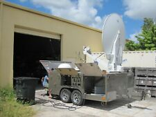 Satellite Uplink Broadcast Trailer Fully Working No Warranty No Returns