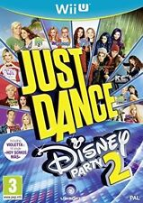 Just Dance Disney Party 2 Nintendo Wii U Kids Console Game PAL