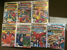Captain America 207- 213 First Arnim Zola App Jack Kirby 1977 Complete Set Of 8