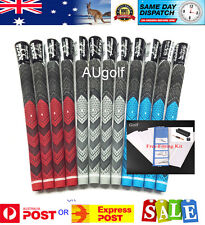 4 X Golf Pride Mid Size Blue MCC Plus4 Grips - Grip Kit