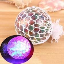 Colorful Squishy Mesh Grape Ball Bubble Squeeze Toy Anti-Stress Relief Kids Toys