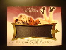 2017 Benchwarmers Dreamgirls Michelle McLaughlin Pillow Case GOLD SWATCH Ser# /3
