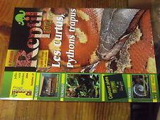 4µ? Revue Reptil Mag n°17 Poumons Aquaterrarium Mygales Pythons