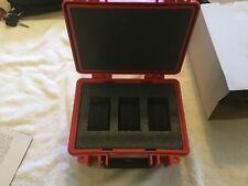 Three Watch Travel Case in Red - Series 3/0, Waterproof Rolex Swiss invitca