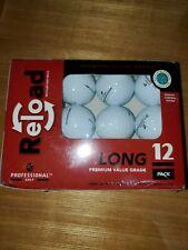 Reload Long Premium Value Grade Golf Balls Top Flight Xl 3000 12 Pack, #1334
