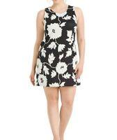 Ronnie Nicole Puff Floral Scuba Knit Sleeveless Shift Dress Size 24W