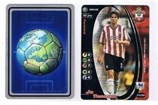 Los asistentes Premier League 2001-02 Southampton John Tessem Fútbol Tarjeta De Comercio