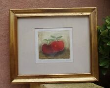 """VICENTE GANDIA (1935-2009) LIMITED EDITION 20/25 """"APPLES"""" ETCHING SIGNED"""