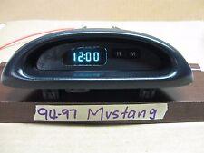 1995-97 FORD MUSTANG DASH DIGITAL CLOCK