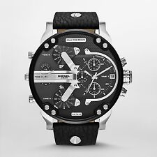 Diesel Men's DZ7313 Mr. Daddy 2.0 Black Chronograph Watch