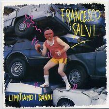 FRANCESCO SALVI - LIMITIAMO  DANNI - ITALIE - CD ALBUM 9 TITRES 1990 TRES RARE