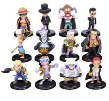 ONE PIECE : 12 figurines ( Luffy / Moria / Crocodile) PVC - Anime gift figures