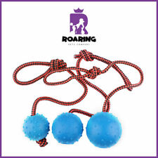 Shaira Diaz - Ball and Rope Chew Toy - Roaring Pets Company