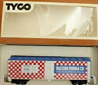 HO scale Tyco Ralston Purina Billboard  Box Car  MRS 4554  Vintage