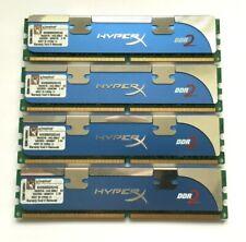 8GB (4 X 2GB STICKS - MATCHED PAIRS) KINGSTON HYPERX DDR2-1066 / PC2-8500 RAM