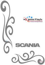 Scania truck window decals x 2. graphics vinyl stickers