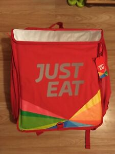JustEat Expandable Food Delivery Rucksack & Jacket