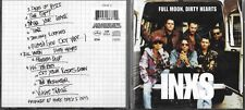 CD INXS FULL MOON DIRTY HEARTS 12 TITRES DE 1993 feat RAY CHARLES