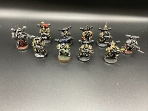 22021 Warhammer 40K Chaos Space Marines Black Legion Tactical Squad (10) WH40k