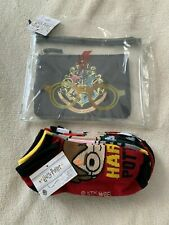 Harry Potter Cosmetic Case Set and Socks - New
