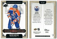 2018-19 UD Chronology Time Capsules Unopened Sealed Unripped Pick From List !!