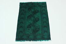en exclusivité Vintage élégant vert néon look antique PERSAN TAPIS d'Orient